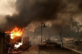 Why Are Flags At Half Mast Today In California Raging Wildfires In California The Boston Globe