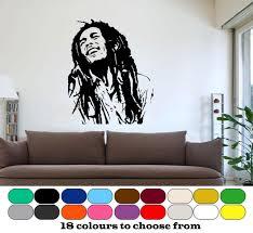 chambre bob marley 3d affiche classique bob marley mur graphique vinyle murale