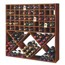 wooden wine racks full wood wine rack selection wine enthusiast