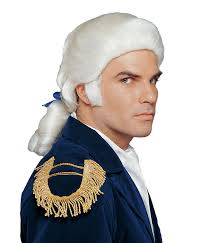 colonial costume wig realistic lace front wig