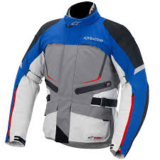 alpinestars motocross gear alpinestars valparaiso drystar jacket gray blue red sand closeout