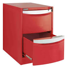 Vertical 2 Drawer File Cabinet by Captivating Two Drawer Filing Cabinet Steel Material Red Color
