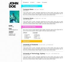 Cv Resume Sample Pdf Good Job Resume Examples Resume Example And Free Resume Maker