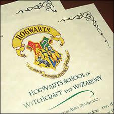 hogwarts acceptance letter harry potter ebay