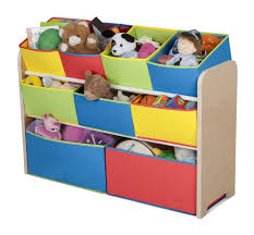 Colorful Furniture by Decorating Chic Wooden Tot Tutors Toy Organizer With Colorful