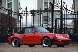 porsche cabriolet classic 1988 porsche 911