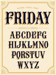 retro decorative lettering alphabet u2014 stock vector masha tace