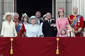 trooping the colour royal children join for flyover daily
