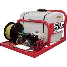 northstar skid sprayer u2014 100 gallon capacity 160cc honda gx160