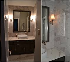 finished bathroom ideas subway tile bathroom with shower bathroom remodel in the