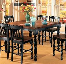 cherry kitchen table set black counter height table set dining room cherry with leaves on for
