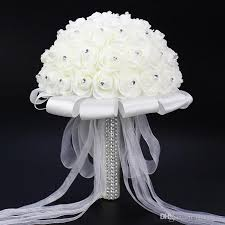 wedding flowers cork white wedding bouquets bridal holding flowers made