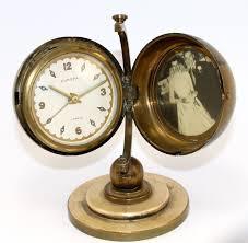 vintage europa desk globe alarm clock wm452 what u0027s it worth
