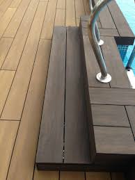 composite deck boards wood look nogal 3221 tarimatec