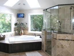 bathroom tv ideas top 10 most popular bathrooms on zillow s dueling digs big shower