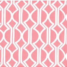 Pink Home Decor Fabric Fenced In Blue Home Decor Fabric Us Grown Cotton Canvas