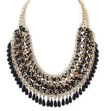 necklace choker wholesale images Wholesale bohemian big maxi necklace 2016 fashion droplets tassel jpg