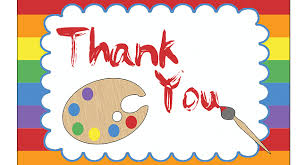 art party thank you cards birthday party pbs parents pbs