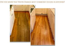 hardwood floor water damage restoration repair services in