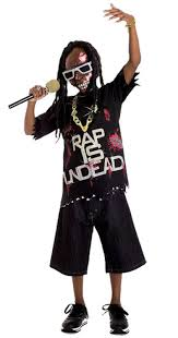 Kids Zombie Costume Boy U0027s Rapstar Zombie Costume Kids Costumes