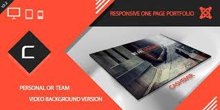 cashemir responsive one page joomla template joomla themes