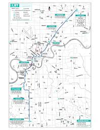 Dart Rail Map Train Transit Maps For Western U S Canadian Cities Maps Of All