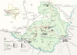 Us National Parks Map Big Bend National Park Lodging Home Improvement Design And