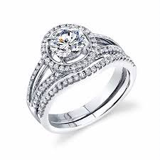 engagement ring and wedding band set 49ct simon g diamond platinum halo engagement ring setting and