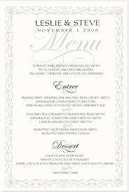 wedding menu cards all about wedding menu cards