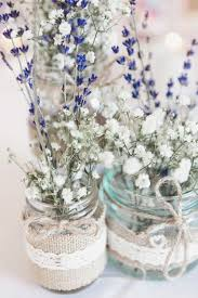 baby breath flowers ditsy floral pretty pink country seaside wedding wedding jars