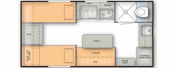 Caravan Floor Plan Layouts Off Grid