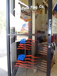 How To Properly Display The American Flag American Flag Wavy Decal Computer Cut From Sign Vinyl Long