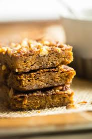 gluten free vegan carrot cake blondies paleo food faith fitness