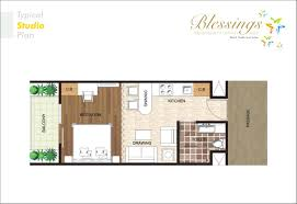 studio apartment floor plan top view isolated on whitefloor 300 sq