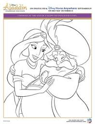 alladin coloring pages aladdin coloring page activity sheet 4 printables