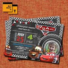 cars pit pass birthday invitation by lovebandpdesigns on etsy