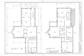 Scaled Floor Plan File First Floor And Second Floor Plan Senator Elihu B