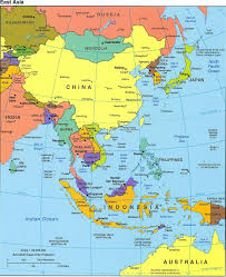 Asia Continent Map by Asia Map Europe