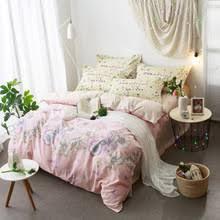 Pale Pink Duvet Cover Online Get Cheap Light Pink Double Bedding Aliexpress Com