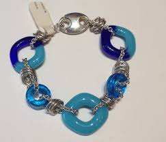 glass beads bracelet images Glass jewelry thomas michaels designers png