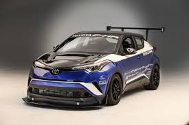 toyota chr interior a 600 horsepower toyota c hr could only happen at sema roadshow