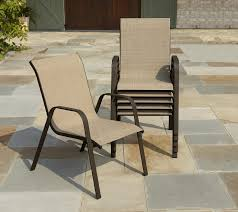 Oasis Outdoor Patio Furniture Garden Oasis Benton Sling Stack Chairs 13 50 Ea With In Store Pickup