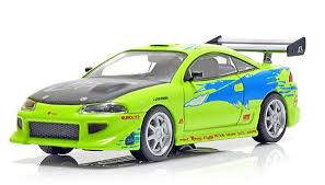 mitsubishi eclipse fast and furious green light collectibles 1 43 mitsubishi eclipse diecast model car