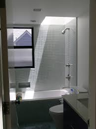 Contemporary Tile Bathroom Bathroom Glass Tile Tub Guest Bath Tile Idea Gorgeous Shower Tub