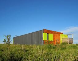 stunning shipping container home with all glass wall can be yours