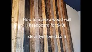 Diy Wood Panel Wall by Wood Panel Headboard Diy Amys Office