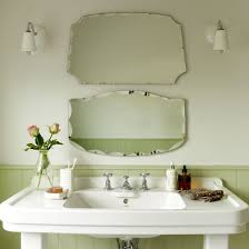 impressive design ideas old fashioned bathroom mirrors vintage