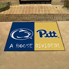 College Team Rugs Ncaa House Divided Rugs Doormat U0026 Welcome Mats