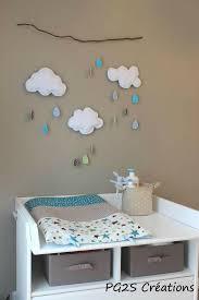 decoration nuage chambre bébé chambre bébé garçon nuage famille et bébé