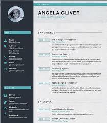 resume format design 49 creative resume templates unique non